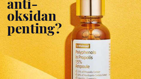 Mengapa Antioksidan wajib ada di skincare routine kamu!