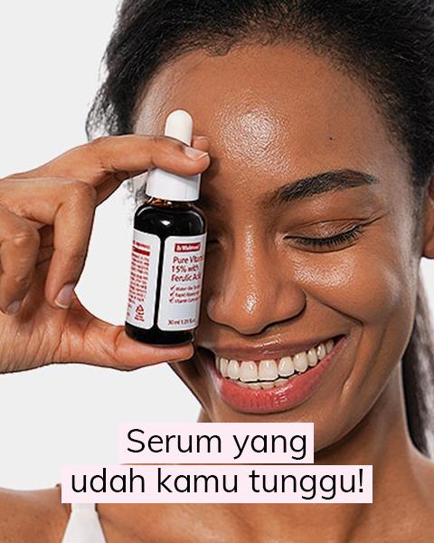 Efektif Bahkan Untuk Kulit Sensitif: Serum Vitamin C Baru dari By Wishtrend!